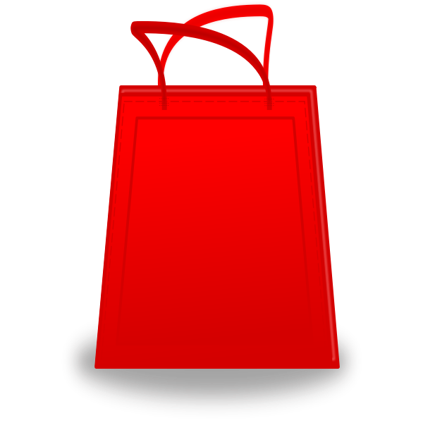 red shopping bag vector free svg red shopping bag vector free svg