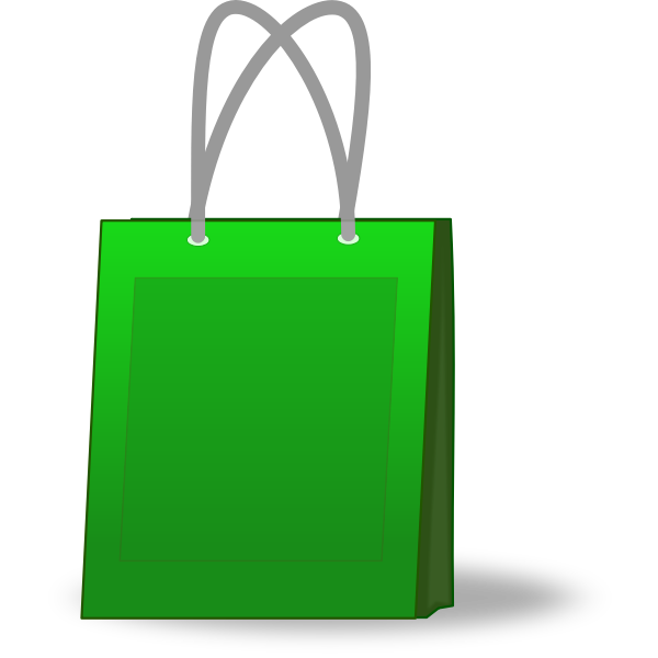 Shopping Bag Vector Graphics