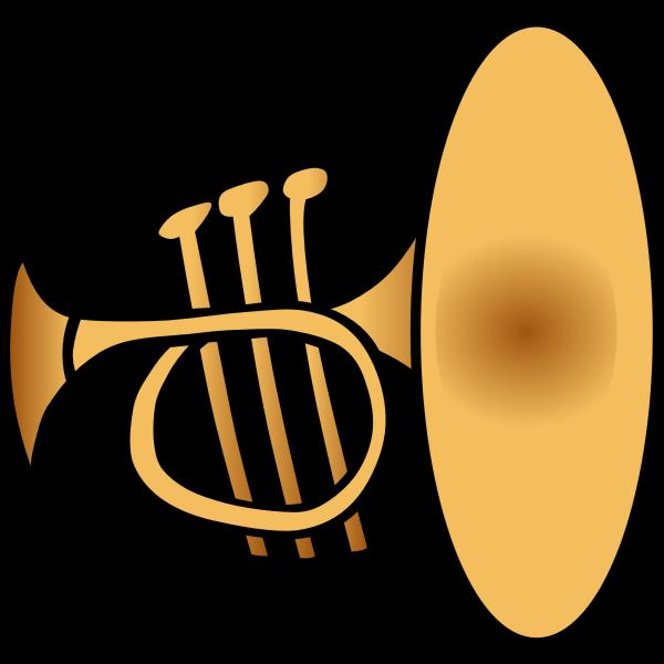 Trumpet vector clip art