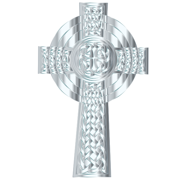 Silver Celtic Cross 3