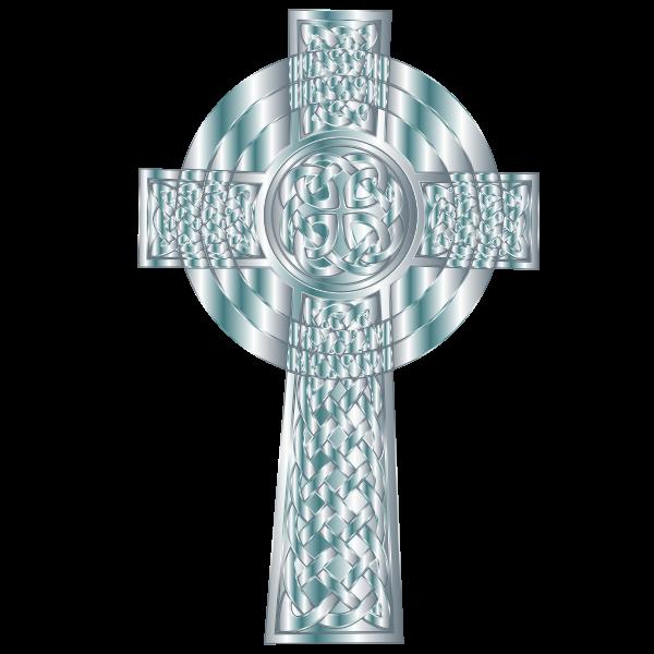 Silver Celtic Cross 4