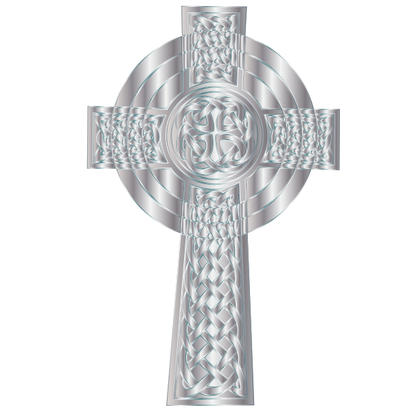 Silver Celtic Cross 5