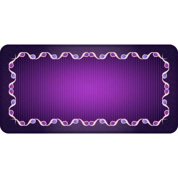 Vector clip art of violet background with rectangular border