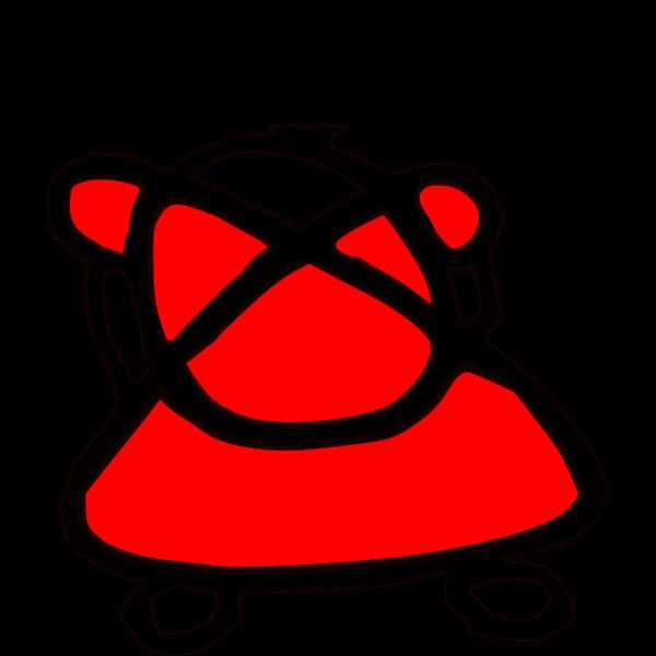 Simple Figurine Red