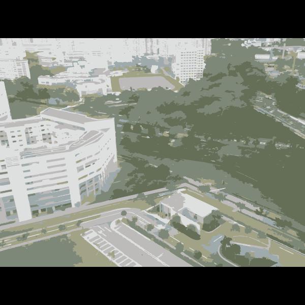 Singapore sky view 2