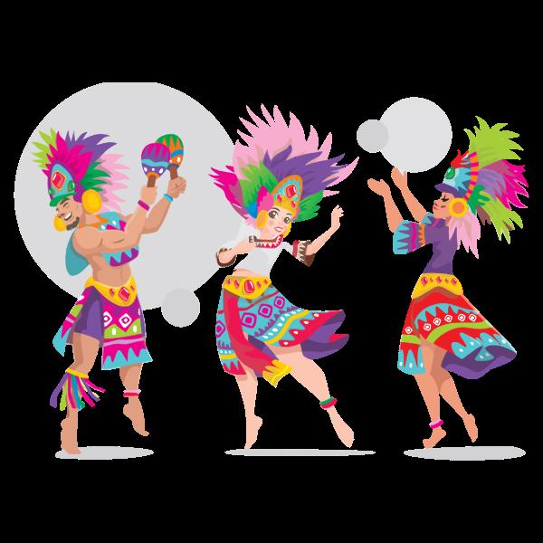 Sinulog Dancers