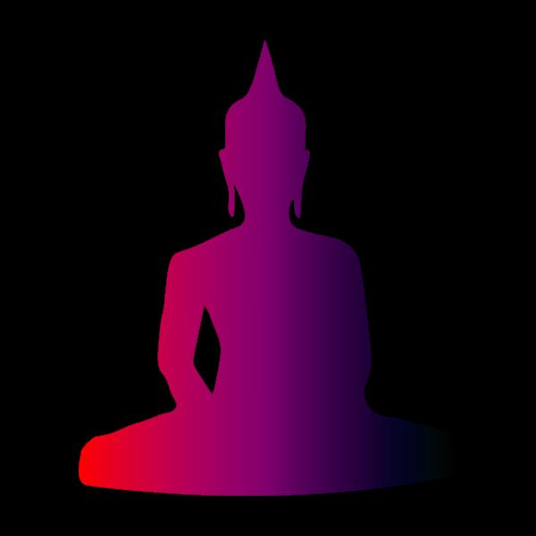 Colourful Buddha