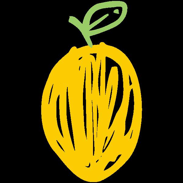 Sketched lemon