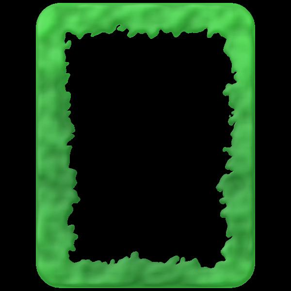 Slime border vector clip art