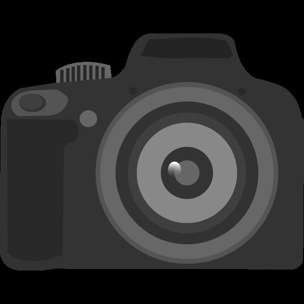 Simple amateur camera icon vector illustration
