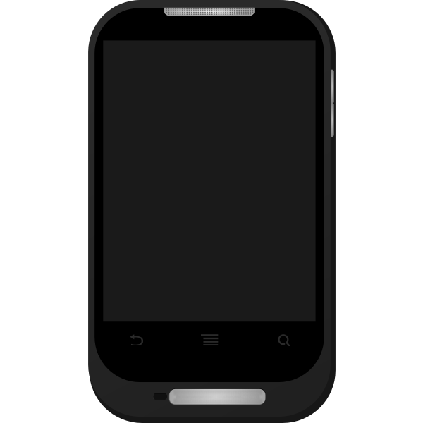 Smartphone vector clip art