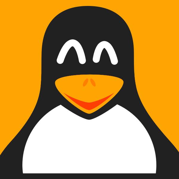 Smiling penguin vector image