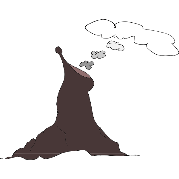 Smoking Volcano-1585831385