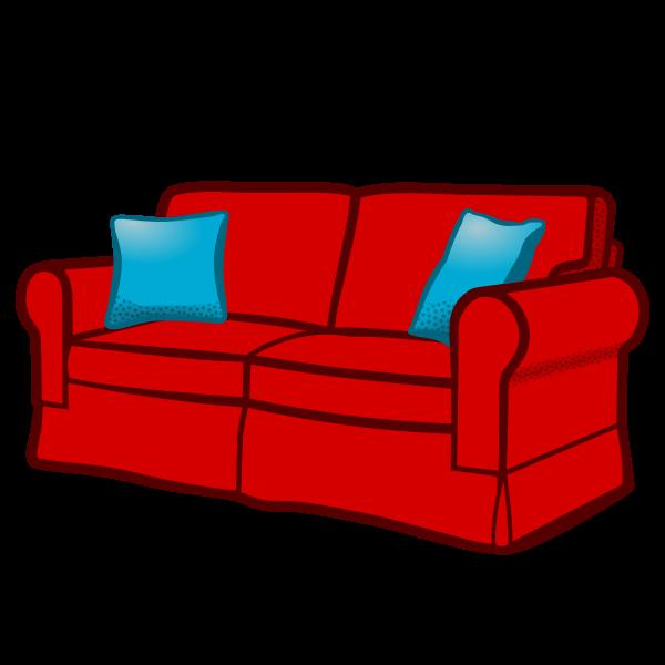 sofa - coloured