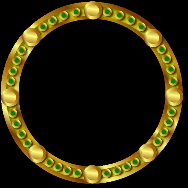 Solar disc vector image