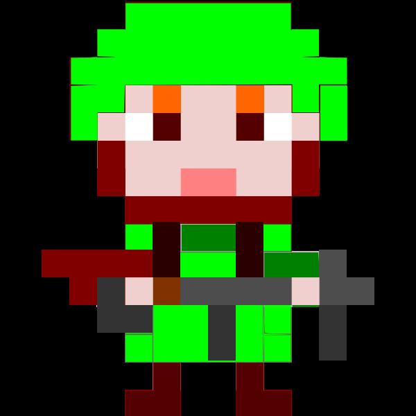 Pixel soldier