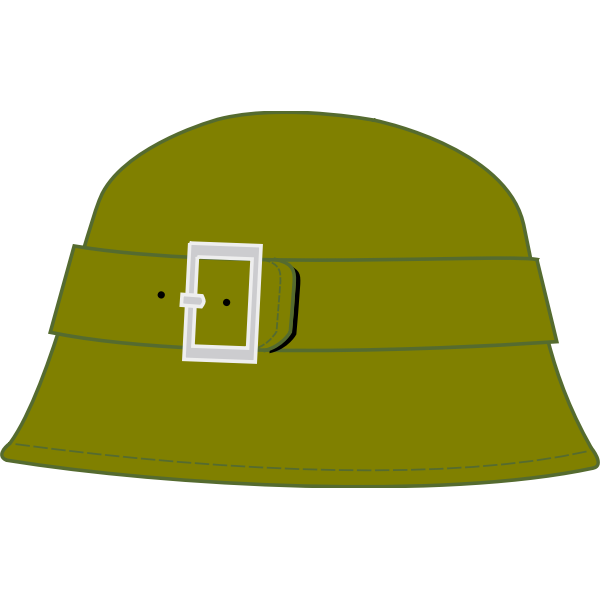 Male bell hat vector image
