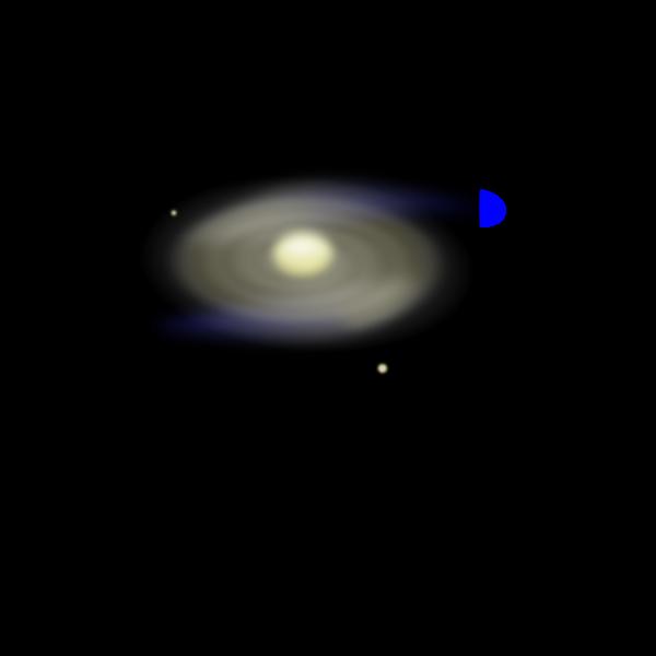 Spiral Galaxy m18