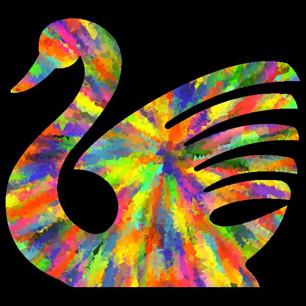 Splash Of Color Swan3
