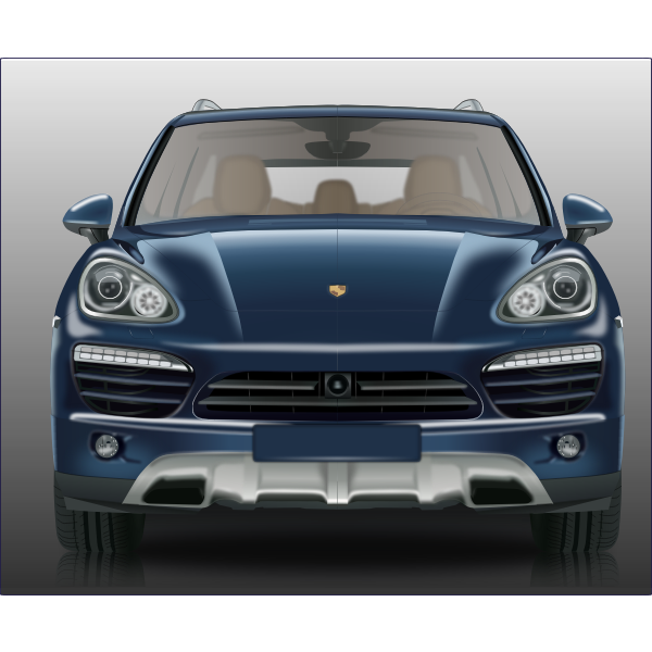 Sports Car Front