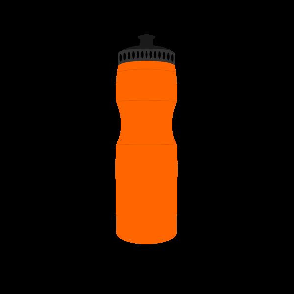 Sports drink bottle vector clip art