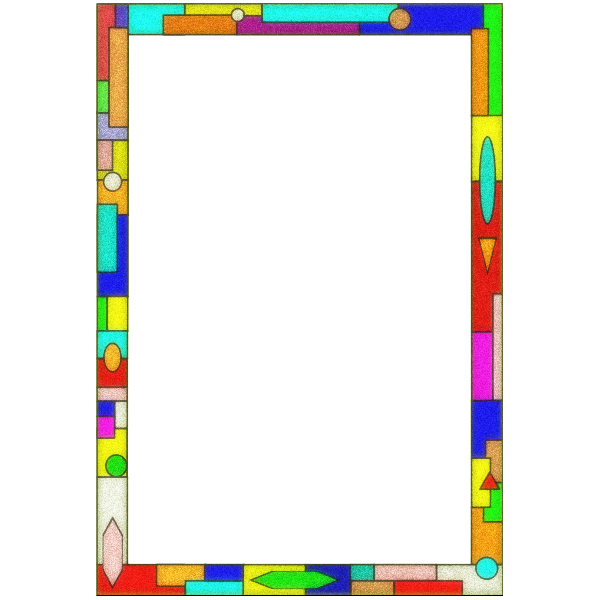 Stained Glass Border  Arvin61r58