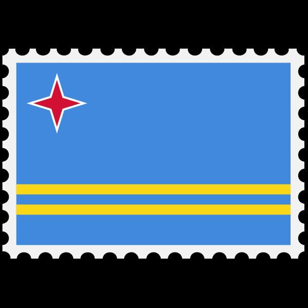 Aruba flag image