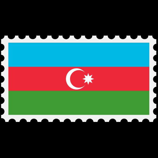 Azerbaijan flag image