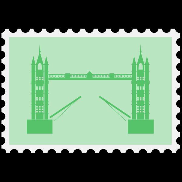 English stamp image