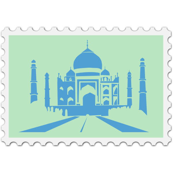 Indian stamp image