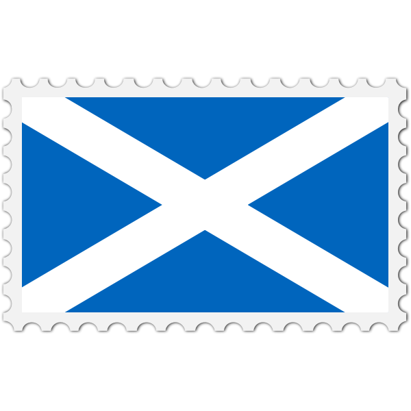 Stamp Scotland Flag