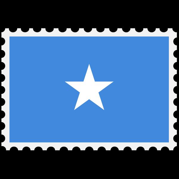 Stamp Somalia Flag