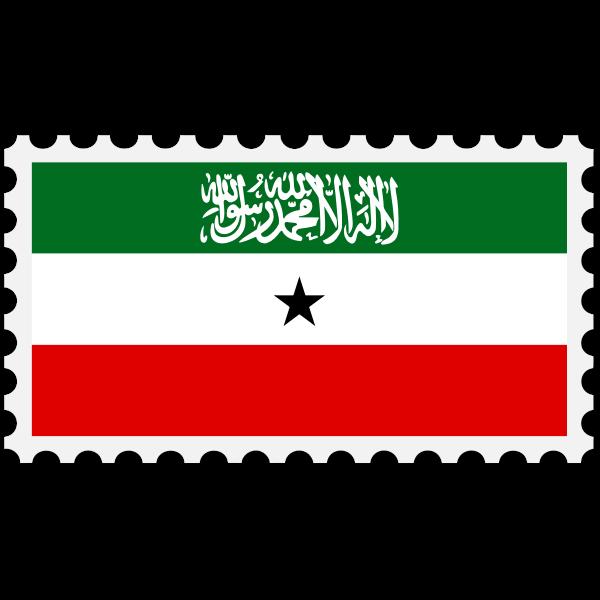 Stamp Somaliland Flag