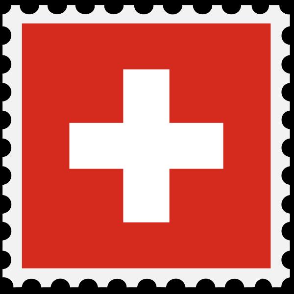 StampSwitzerlandFlag