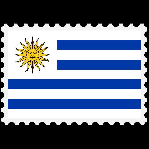 Stamp Uruguay Flag