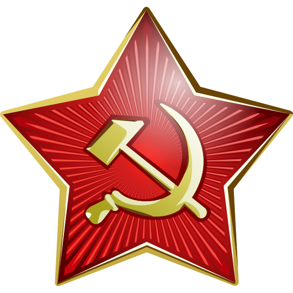 Star of Soviet soldier