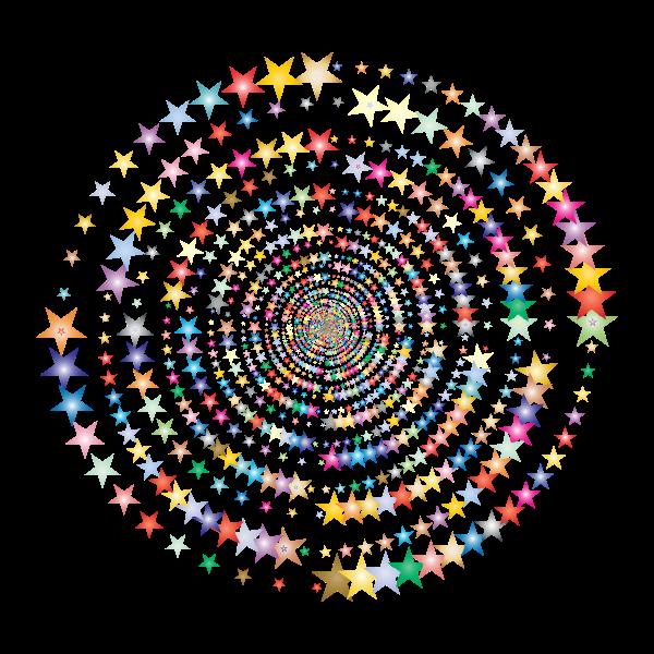 Stars in vortex