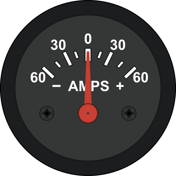 Automotive Amp Meter