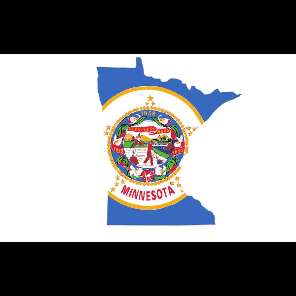Minnesota's map