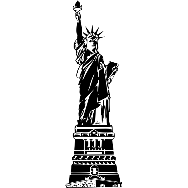 Statue of Liberty vector graphics