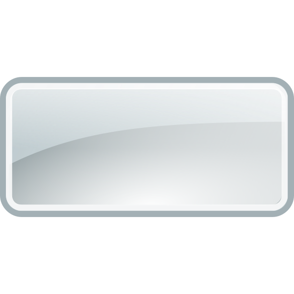 Glossy square border vector graphics