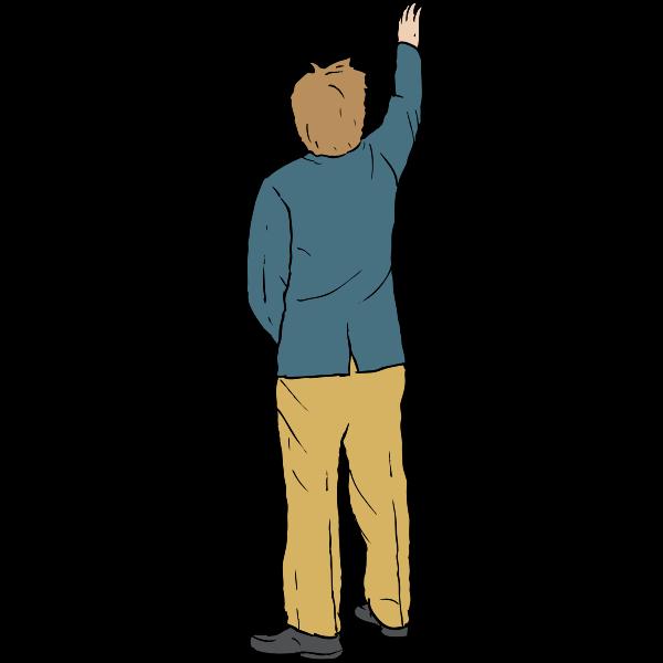 Jamie O'Shea Reaching