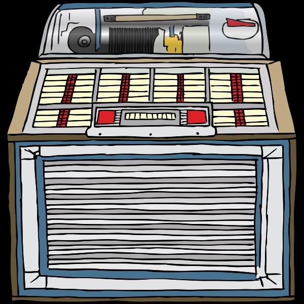 Jukebox vector illustration