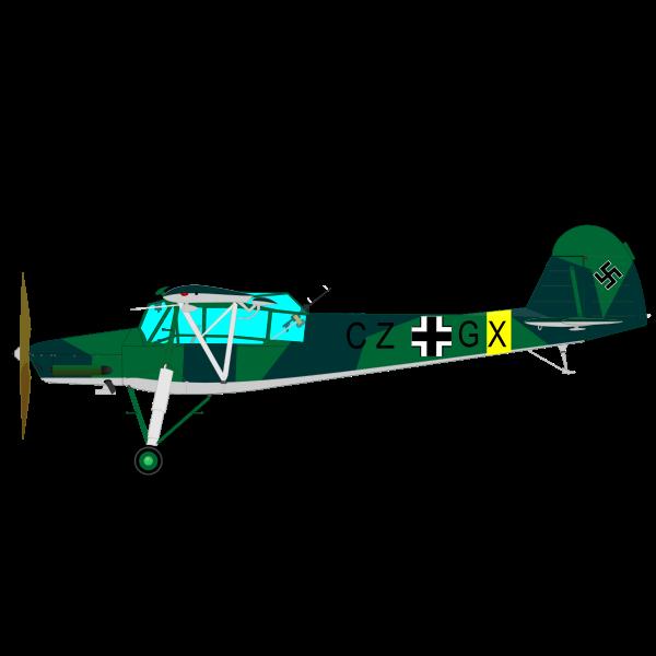 Nazi war plane