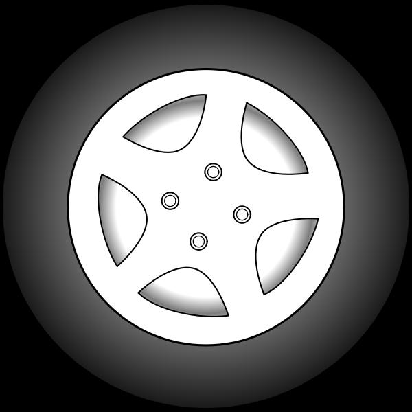 Wheel vector graphics