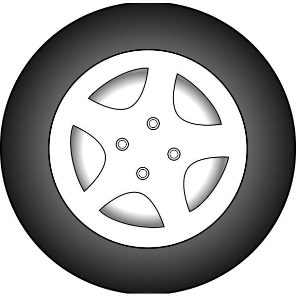 Wheel vector graphics