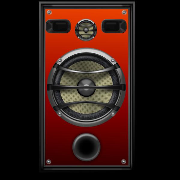 Studio speaker vector image