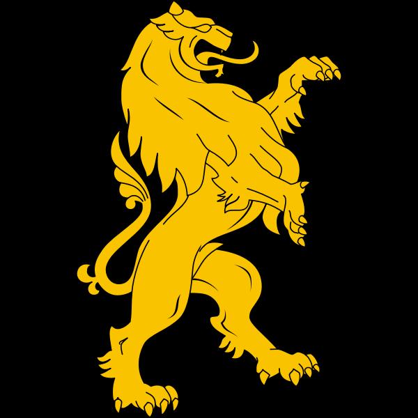 Stylised lion image