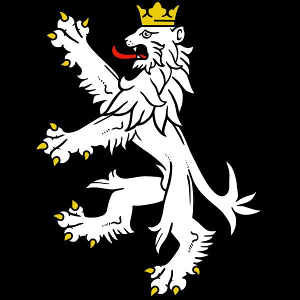 Stylised lion symbol