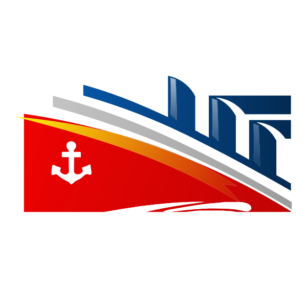 Stylized ship